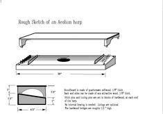Æolian Harp Plan (wind harp)