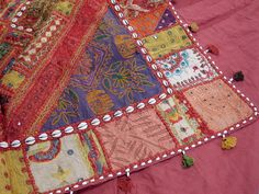 bohemian quilts | ... Handicraft Bedspread Beautiful Bohemian Fine Indian Style Bedding