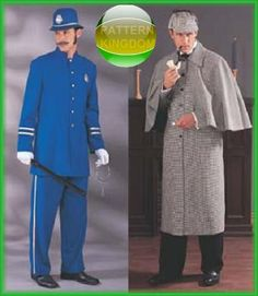 Butterick 3993 Sherlock Holmes Frock Coat/English Bobby Patterns