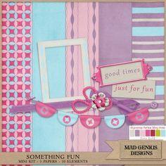 Mad Genius Designs Digital Scrapbooking Mini Kit Freebie