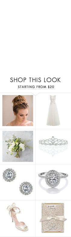 """wedding dress"" by anggi-ninna on Polyvore featuring Alberta Ferretti, Kate Marie, Miss Selfridge, Ultimate, Kate Spade, WALL and vintage"