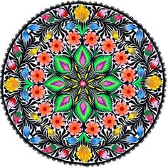 Polish Folk Art Mandala ;)