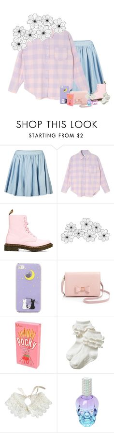 """""""♍"""" by spring-y ❤ liked on Polyvore featuring AX Paris, Dr. Martens, WALL, Ted Baker, Old Navy and Hot Topic"""
