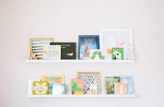 Books + Art // Eva Black's stylish nursery | Kayla Adams | 100 Layer Cakelet