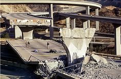 Images of damage from the 1994 Northridge, California Earthquake | Credit: classicrockforums.com