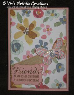 15/16 Catalogue - card swap - #StampinUp! #vicsartisticcreations #englishgarden #blushingbride #butterflythinlitsdie #boldbutterflythinlitsdie #decorativelabelpunch #Gardeninbloom