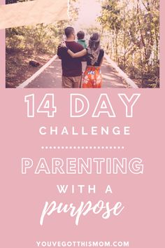 Check out my tips on being a more present mom and take the 14 day challenge!