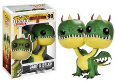Pop! Movies: How to Train Your Dragon - Barf & Belch | Funko
