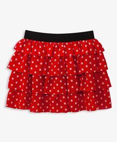 Ruffled Polka Dot Skirt #forever21girls #NewFrontier