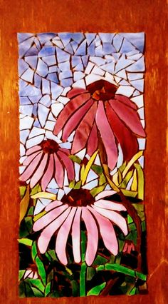 Mosaic Garden Art, Mosaic Tile Art, Mosaic Tile Designs, Mosaic Pots, Mosaic Artwork, Mosaic Patterns, Mosaic Glass, Stained Glass, Mosaic Art Projects