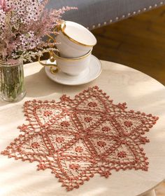 Fairfax Doily Free Crochet Pattern from Aunt Lydia's Crochet Thread