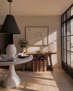 Door Design, House Design, Wrought Iron Doors, Hygge Home, Center Table, Interior Design Inspiration, Interior Ideas, Decor Styles, Interior Decorating