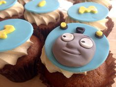 A personal favorite from my Etsy shop https://www.etsy.com/au/listing/253532035/thomas-the-tank-engine-inspired-cupcake