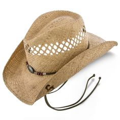 Stoney Creek Stetson Natural/Brown Stained Raffia Straw Cowboy Hat Western Hats, Cowboy Hats, Types Of Hats, Natural Brown, Hats For Men, Women Hats, Leather Hats, Leather Mini Skirts, Brim Hat
