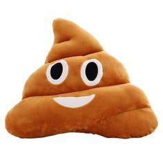 5 Types Mini Emoji Pillow Cushion Poop Shape Pillow Doll Toy Throw Pillow Amusing emotion Poo Cushion almofadas