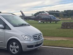 #Helicopter #chauffeur service in #St Andrews #Fife for #corporate clients on #Golf tour Devere #Chauffeur #Edinburgh