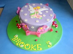 Easy to Make Tinkerbell Cakes   ll need to decide on a cake make sure to