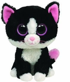 695f252a579 Ty® Pepper Cat Beanie Boo s™ It s play time! This adorable Pepper Cat is  ready for play time fun. Pepper Cat Beanie Boo is