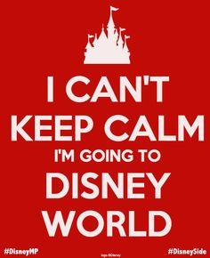 I can't keep calm!