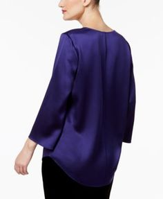 Eileen Fisher Silk Tunic - Black XL