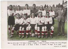 #LiverpoolFC 1949-50 #BobPaisley