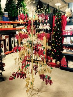 Large selection of Christmas tree decorations
