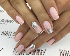 43 Beautiful Prom Nails for Your Big Night Simple and Elegant Nail Design for Short Nails Elegant Nail Designs, Short Nail Designs, Elegant Nails, Stylish Nails, Trendy Nails, Nail Art Designs, Nails Design, Nagellack Design, Coffin Nails Long