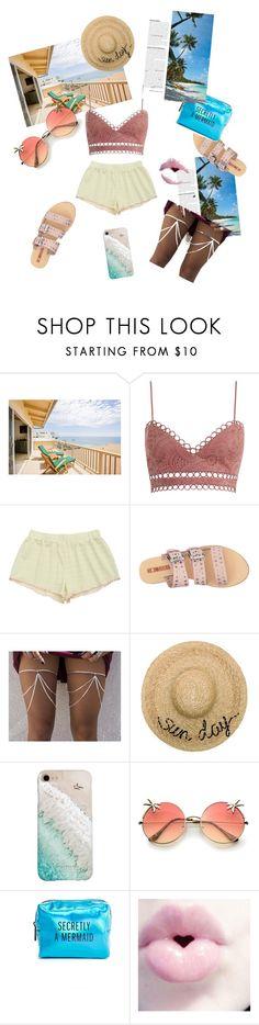 """#Beach #Stylist #Fashion Designer #Styling #TropicalVaccation"" by rhea-raka ❤ liked on Polyvore featuring Zimmermann, Sol Sana, Eugenia Kim, Gray Malin and Pinch Provisions"