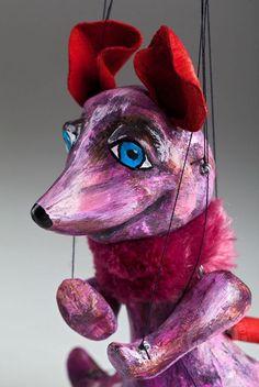 foto: Mouse the Comedian Marionette Decoration Originale, Comedians, Animals, Fictional Characters, Art, Marionette Puppet, Computer Mouse, Animais, Craft Art