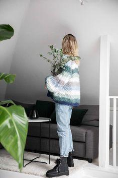 Camilla Pihl Strikk Blanket, Knitting, Diy, Design, Creative, Tricot, Bricolage, Cast On Knitting, Stricken