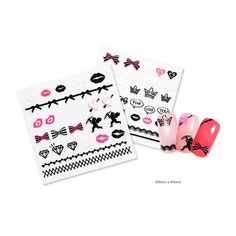 ETUDE Pink Prism Nail Stickers by ETUDE HOUSE | KollectionK.com