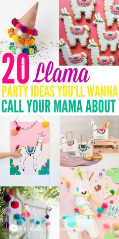 How to Throw the Perfect Unicorn Party Llamas are the newest obsession and this theme seriously make Mexican Birthday Parties, Girl Birthday Themes, Kids Party Themes, Girl First Birthday, First Birthday Parties, Birthday Party Decorations, First Birthdays, Theme Parties, Party Ideas