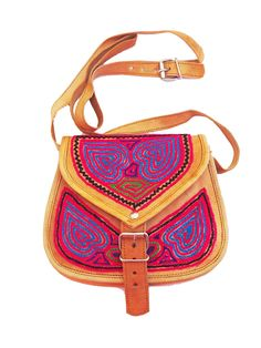 INDIAN LEATHER BAG, Bohemian bag, Hippie leather bags, colorful embroidered cross body bag,Tribal pattern sling Bag, India Bag by iThinkFashion on Etsy https://www.etsy.com/listing/226777084/indian-leather-bag-bohemian-bag-hippie