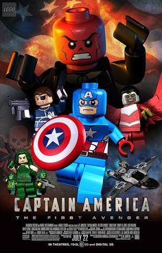 Lego Captain America: The First Avenger