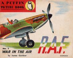 War in The Air, James Gardner, PP3, 1940