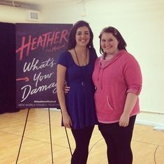 "Veronica and Martha: | Here's A First Look At ""Heathers: The Musical"""