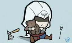 Chibi Connor Kenway AC3 by Rubiezx on Deviantart