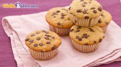 Muffin alla banana e gocce di cioccolato (muffin del buonumore), altro progetto per settimana prossima