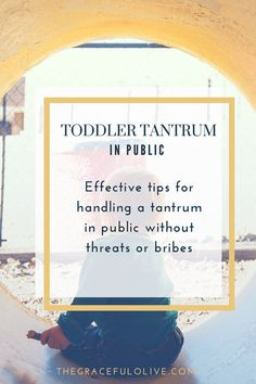 toddler tantrum | tantrum in public | handing a tantrum Nothing is more embarrassing than a toddler tantrum with an audience. Of course it is going to happen but here are some tips to diffuse the situation when you have a toddler tantrum in public.