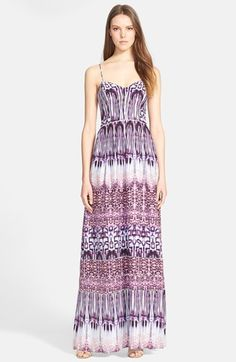 Parker+'Verona'+Print+Silk+Maxi+Dress+available+at+#Nordstrom