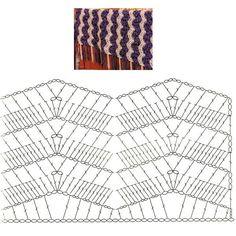 Tapete De Croche Esquema de Duas núcleos