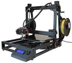 """Isis3D Announces Improved Isis One  Isis3D, a young and ambitious 3D printer startup, say they've just released a dramatically improved version of their Isis One desktop 3D printer.  The latest iteration now features precision-aligned dual extruders for soluble support, and the team at Isis say it's capable of printing """"a vastly expanded range of complex geometries."""""""