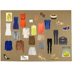 For Valerie, Over 60 different outfit combinations from these pieces.