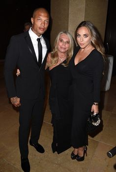 Jeremy Meeks & Chloe At Princess Grace Awards... As Her Mother Gives Him Approval