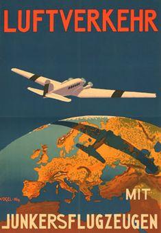 air travel 1935 German