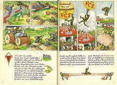 Lurchis gesammelte Abenteuer Band 1 Seite 46 - 47 by micky the pixel, via Flickr