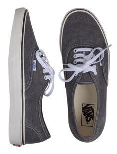 Vans Authentic // Washed Black