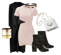 """""""Untitled #3473"""" by emma-oloughlin ❤ liked on Polyvore featuring Boohoo, Elizabeth and James, Topshop, Accessorize, Gemma Redux, NightOut, ootd, RockStar, slay and fiercestyle"""