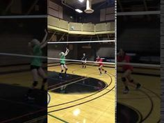 Setters volleyball player responsibilities are to run her team's offense and they call the plays hitters run against blockers like a quarterback in football. Volleyball Serving Drills, Volleyball Skills, Volleyball Practice, Volleyball Setter, Volleyball Training, Mental Toughness Training, Volleyball Positions, Volleyball Pictures, Softball Pics