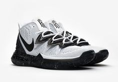 new concept 9f9a8 580e9 Nike Kyrie 5  Oreo